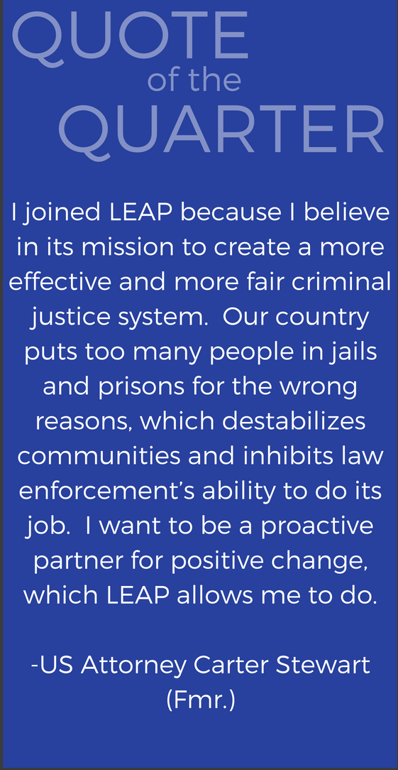 Carter Stewart joined LEAP because...