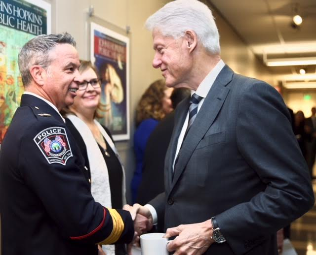 Chief Synan at Clinton Foundation